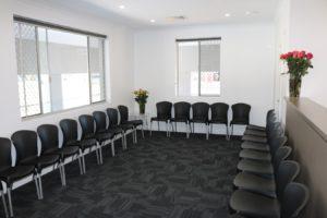 mandurah clinic waiting room