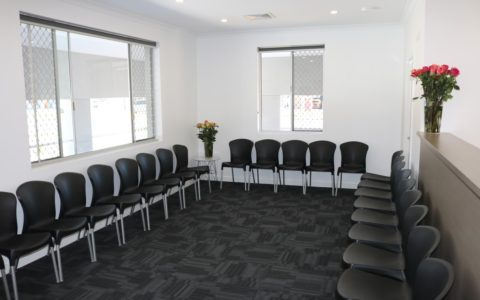 mandurah clinic waiting room